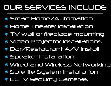 audio video installation services