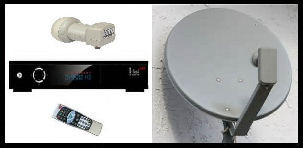 satellite reception equipment